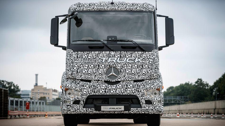 Mercedes-Benz Urban eTruck: Der Streit um die Elektro-Fertigung setzt sich fort