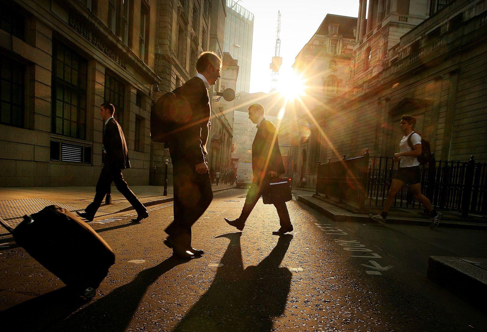 London / Banken-Viertel / Banken / Banker