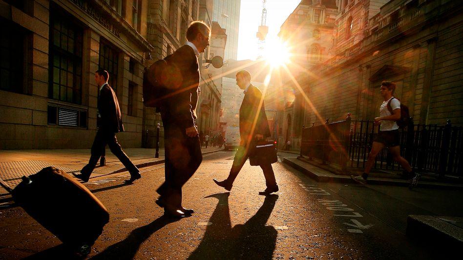 Bankenviertel London: Das Gros der Top-Verdiener unter Europas Bankern arbeitet in der britischen Metropole