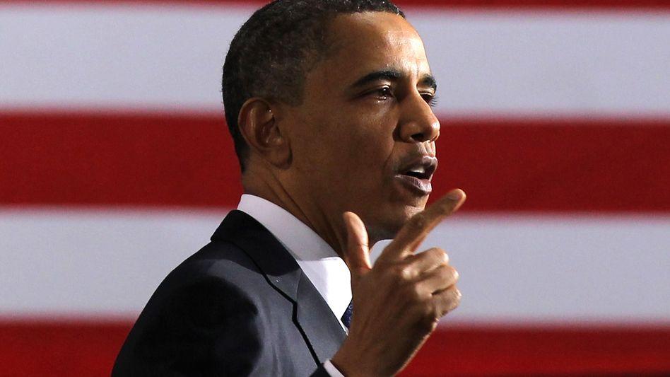 US-Präsident Obama: Will bei den Wahlen am 6. November 2012 antreten