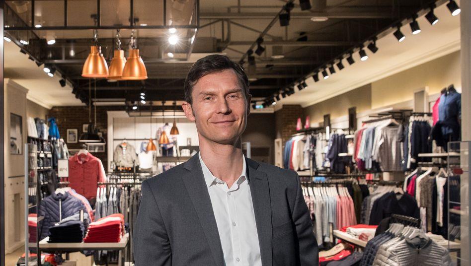 Vor dem Abschied: Tom-Tailor-Chef Heiko Schäfer