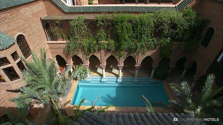 Mit römischen Thermen: La Sultana Marrakesh