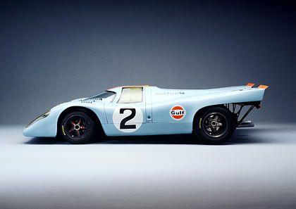 Porsche 917: Hellblauer Supersportwagen mit Hollywood-Karriere