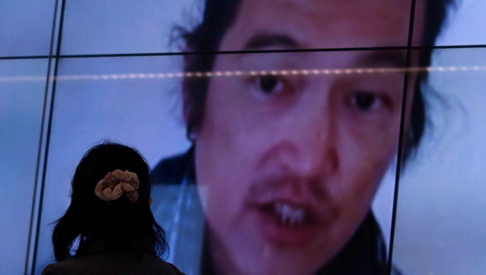 Kenji Goto: TV-Sender berichten über den Tod des japanischen Journalisten