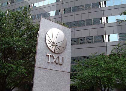 Im Visier von Finanzinvestoren: Das Energieunternehmen TXU könnte für 44 Milliarden Dollar übernommen werden