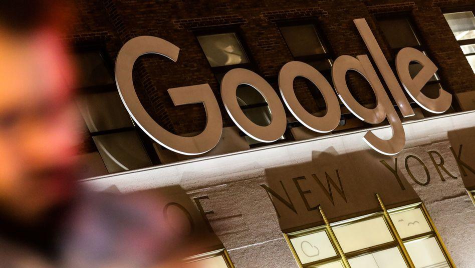 Google-Office in New York: Der Konzern will mit der Regierung zusammenarbeiten