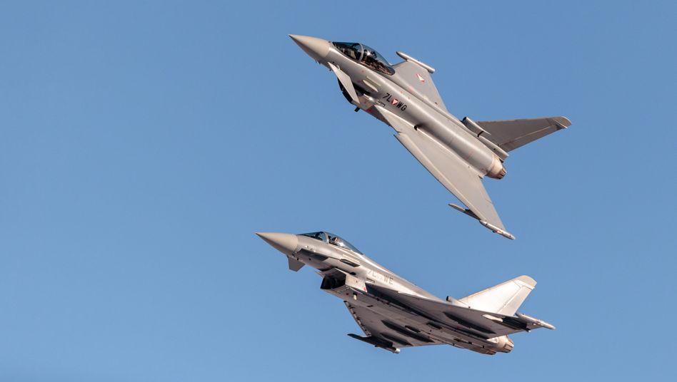 Eurofighter: Der Kampfjet soll bis 2040 durch den neuen Jet ersetzt werden