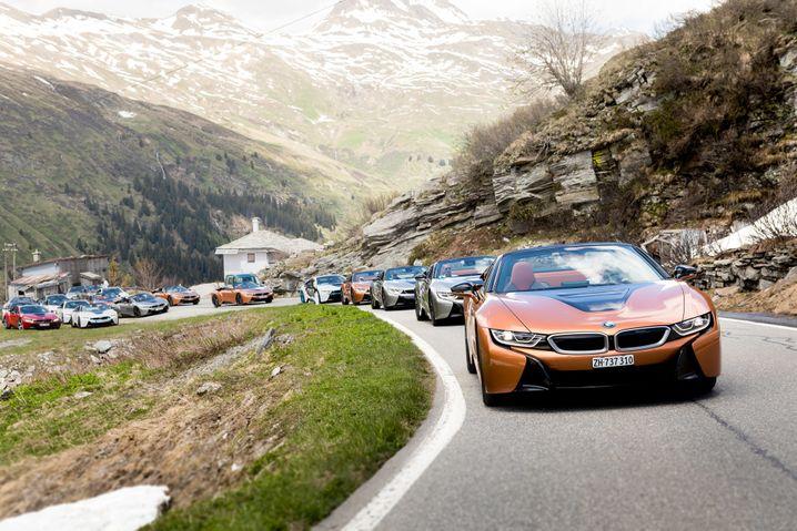 BMW i8 Roadster: Zahl der E-Modelle soll stark steigen