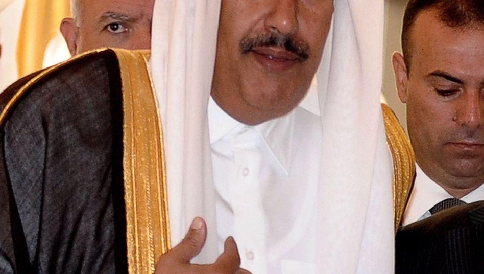 Scheich Hamad bin Dschassim bin Dschaber al-Thani: Der Scheich aus Katar wird mit einem Anteil von knapp 6 Prozent bald größter Einzelaktionär der Deutschen Bank sein