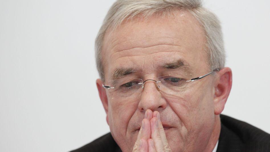 """Ex-VW-Chef Winterkorn (im September 2015): """"Keines Fehlverhaltens bewusst"""""""