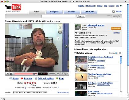 Apple-Mitgründer: Wozniak mit Kater Max