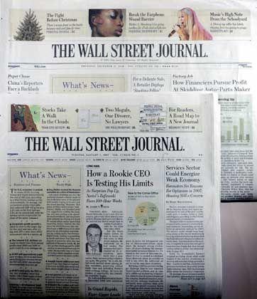 Begehrtes Wall Street Journal: Murdoch lockt mit viel Geld und zahlreichen Zugeständnissen