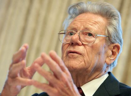 Ethik für die Wirtschaft: Der Schweizer Theologe Hans Küng