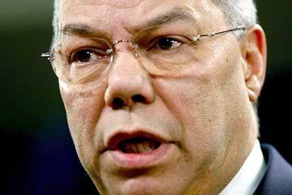 Abgehörte Telefonate vorgespielt: US-Außenminister Powell