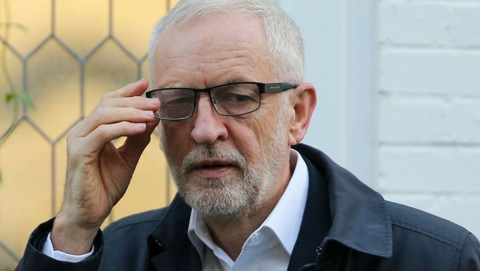 Ja zur Neuwahl: Labour-Chef Jeremy Corbyn