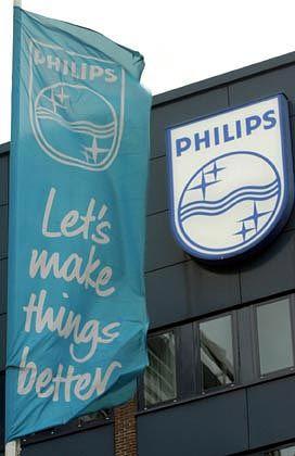 Philips: Gewinn um knapp 80 Prozent eingebrochen
