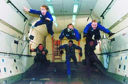 Raumfahrttraining in Russland