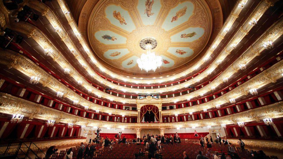 Bolschoi Theater in Moskau: Der Umbau hat sechs Jahre gedauert und offiziell eine halbe Million Euro gekostet - inoffiziell noch mehr