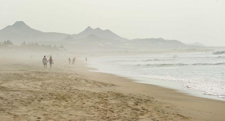 Mexiko: Am exklusiven Badeort Los Cabos gibt es weite, schöne Strände