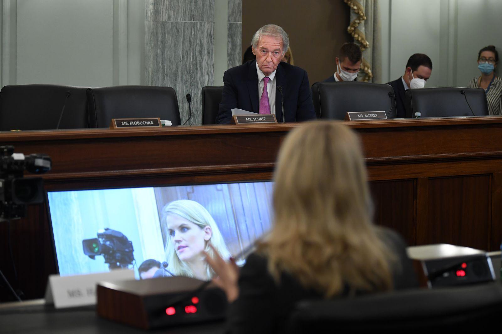 Facebook Whistle Blower Frances Haugen Testifies To Senate Committee
