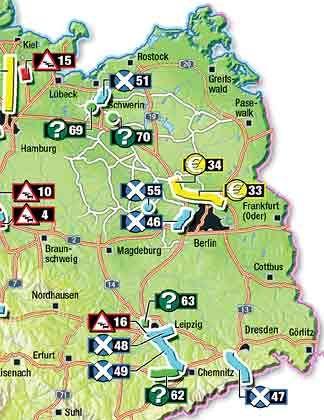 Ein Nadelöhr im Anti-Stauprogramm (15): Auf der Strecke nach Kiel hatte die Bundesregierung an der A21, beziehungsweise der B404 Straßenneubauten vorgesehen (bei Bornhöved und Negernbötel an der B205). Ob etwas daraus wird, ist fraglich
