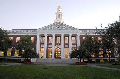 Kaderschmiede: Michael Treichl wurde erst an der Harvard Business School zum intensiv arbeitenden Investmentbanker