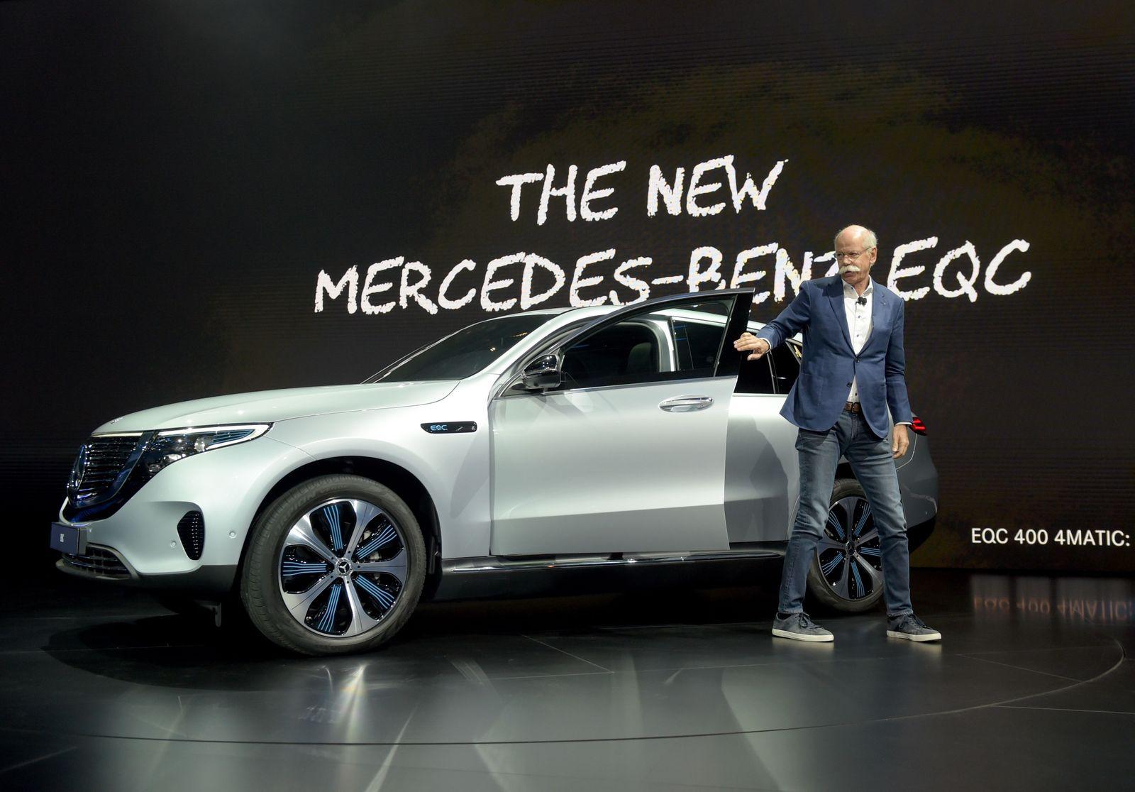 Daimler / Dieter Zetsche / Mercedes EQC