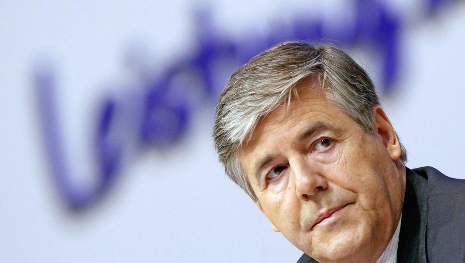 Platz als absoluter Spitzenverdiener verloren: Deutsche-Bank-Chef Ackermann