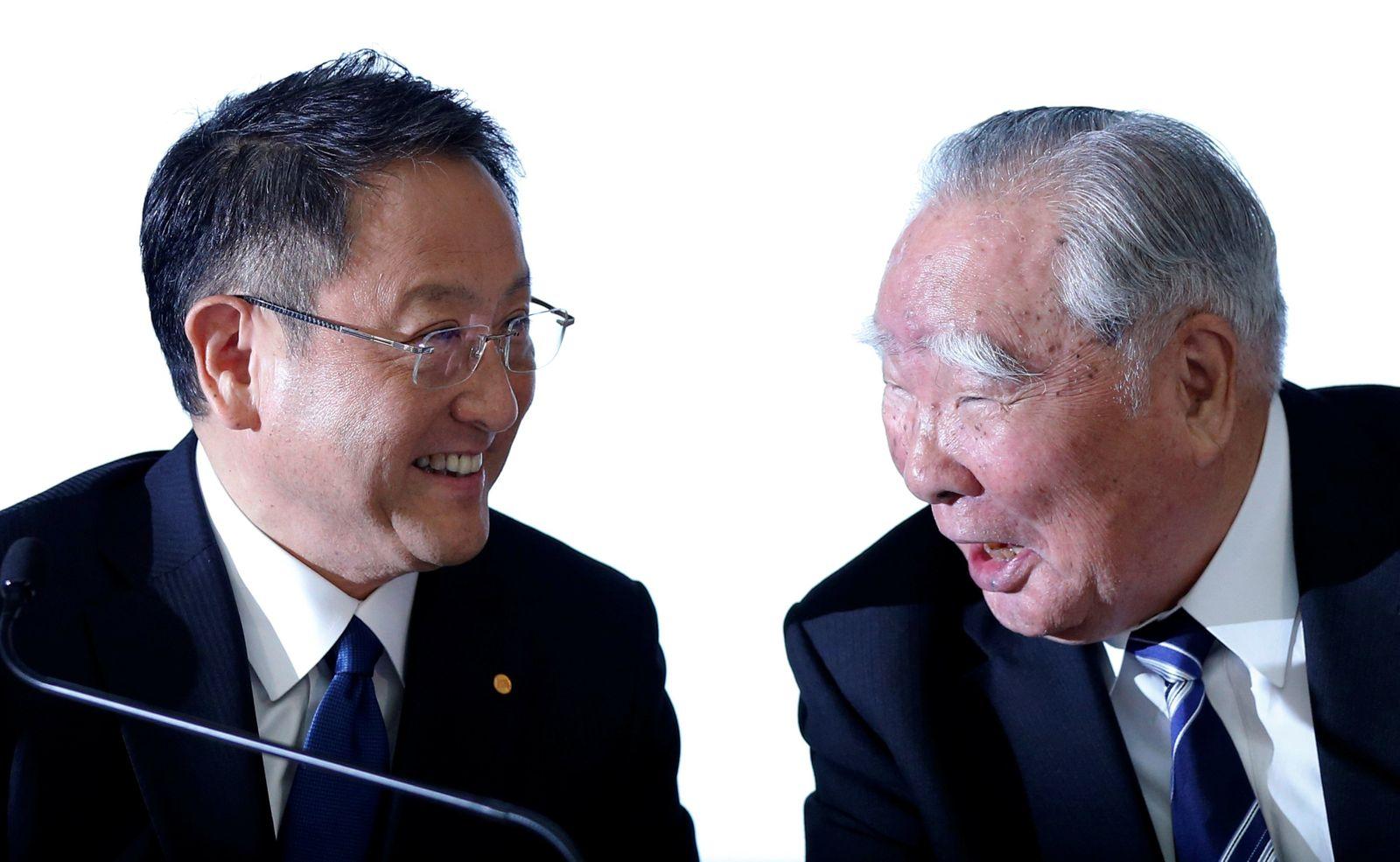 Akio Toyoda / Osamu Suzuki