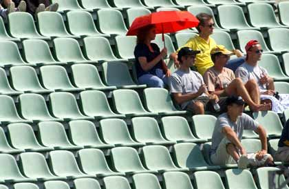 Gähnende Leere: 158 Millionen Euro bei WM-Ausfall