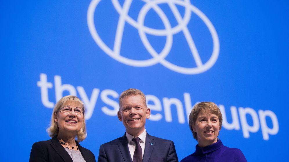 Ruhrkonzern in Not: Die wichtigsten Akteure von Thyssenkrupp