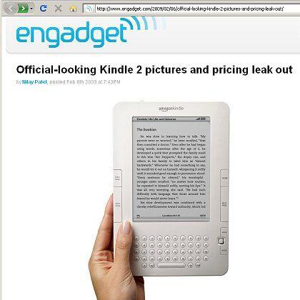 Neues Kindle-Design: Amazon will den Erfolg von Apples iPod kopieren