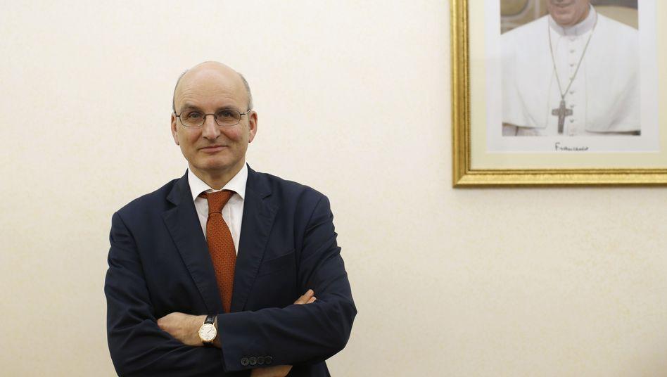 Vatikanbank-Chef Ernst von Freyberg: Ende für einen Reformer