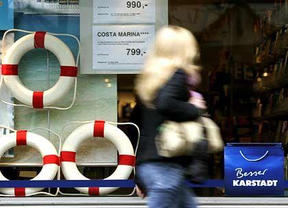 Rettungsaktion KarstadtQuelle: Branchenkreise diskutieren über die Zerschlagung des Kaufhauskonzerns