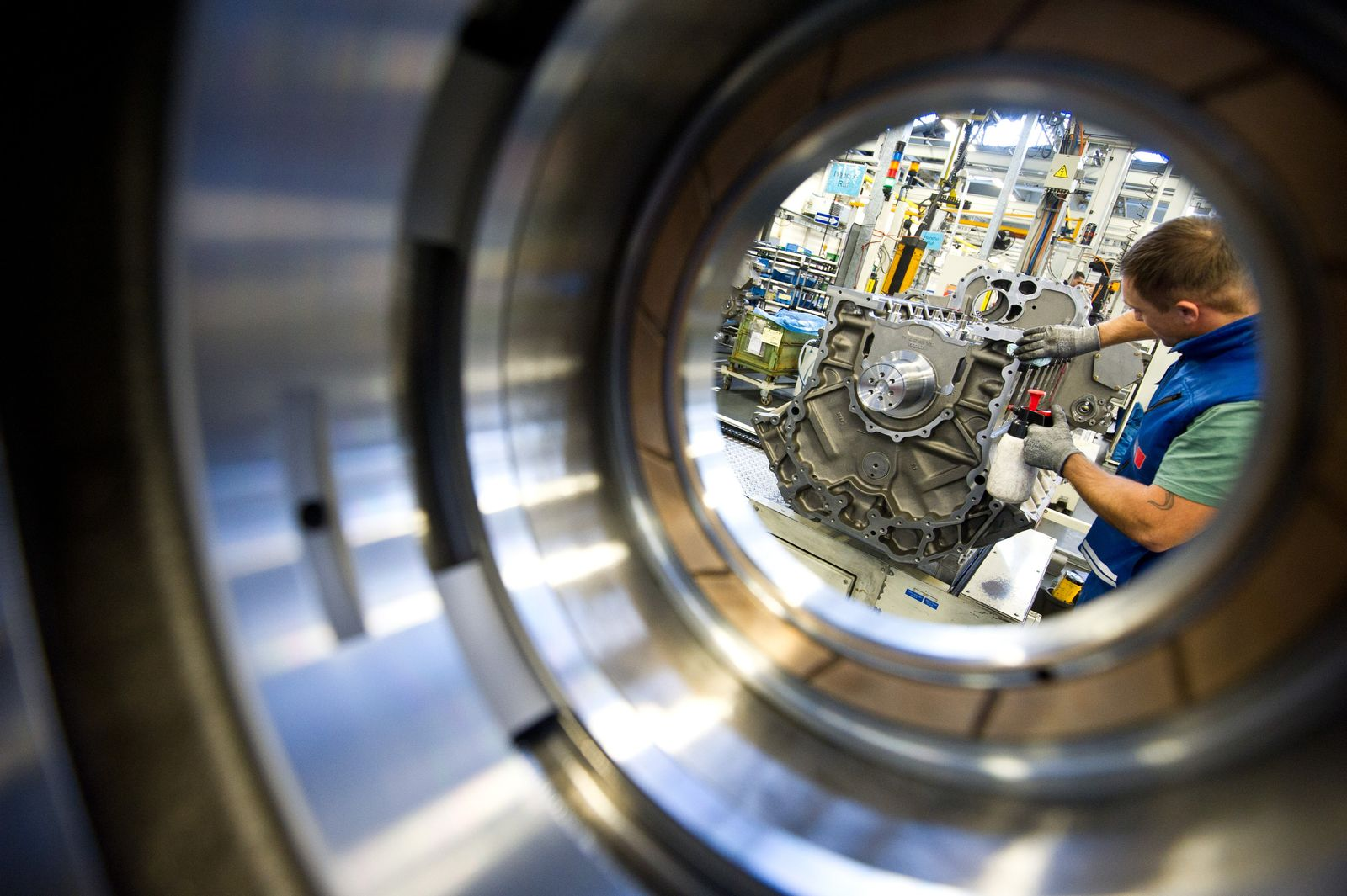 Deutsche Maschinenbauer exportieren weniger