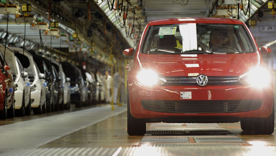 Erfolgsmodell Golf: 2011 verkaufte Volkswagen so viele VWs wie nie zuvor