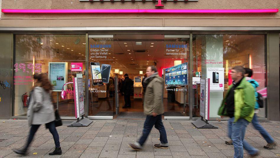 Jeder fünfte Telekom-Shop im Bundesgebiet wird geschlossen