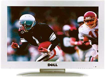LCD-Gerät von Dell: Schriller Sound