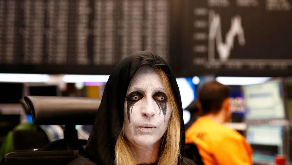 Zahlen zum Gruseln: Die Konzerne im Dax-30 haben im ersten Quartal im Schnitt ein Viertel weniger Gewinn gemacht. Viele Konzerne erwarten für das zweite Quartal jetzt rote Zahlen im Zuge der Corona-Pandemie.