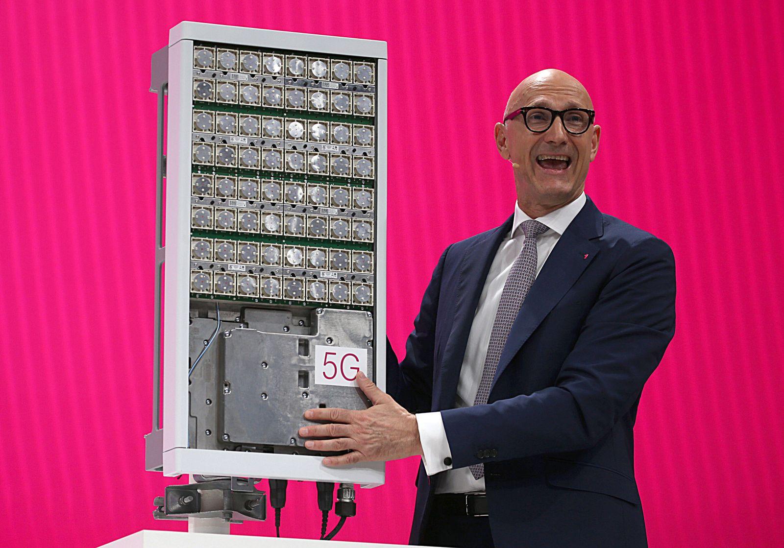 Deutsche Telekom und ihr 5G-Netz