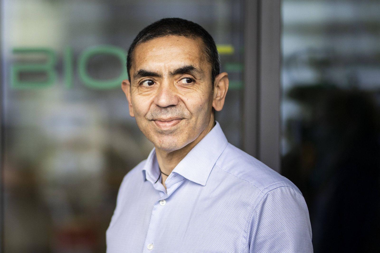 Prof. Ugur Sahin, Vorstandsvorsitzenden der Firma Biontech SE, aufgenommen in Mainz, 04.12.2020. Mainz Germany *** Prof