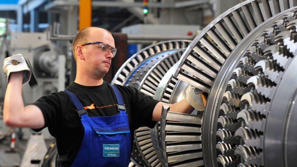 Produktion im Siemens-Werk Görlitz