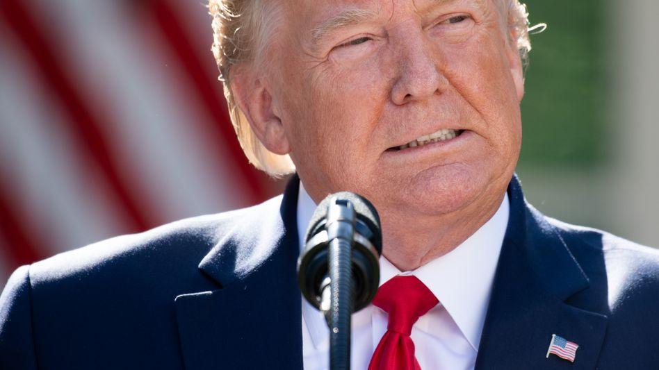 Leidenschaftlicher Twitter-Nutzer: US-Präsident Donald Trump