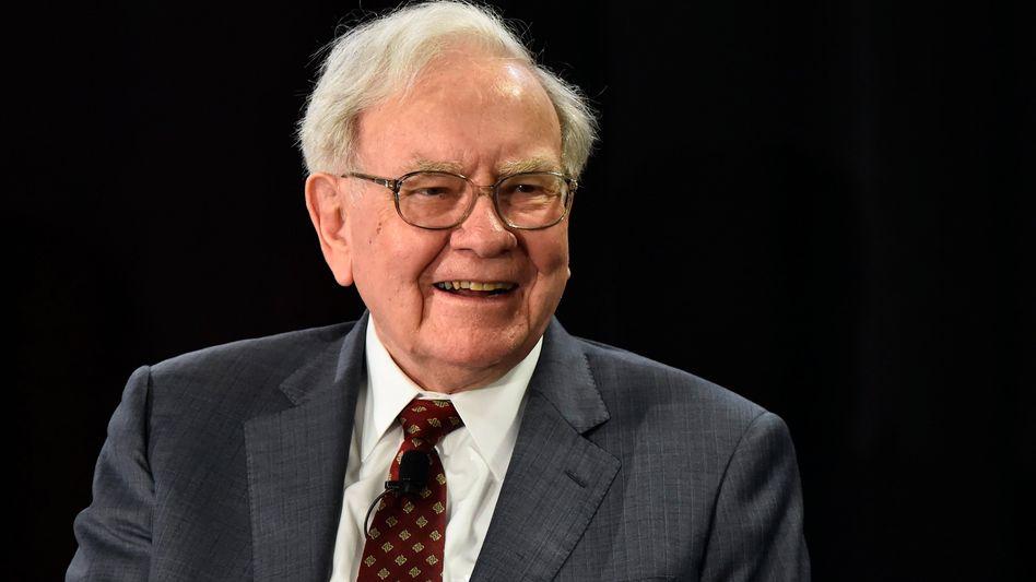 Gutes Händchen: Warren Buffett hat seine Beteiligung am Rückversicherer Munich Re unter die Schwelle von 10 Prozent gesenkt. Seit Buffetts Einstieg sind die Aktien um mehr als 60 Prozent gestiegen