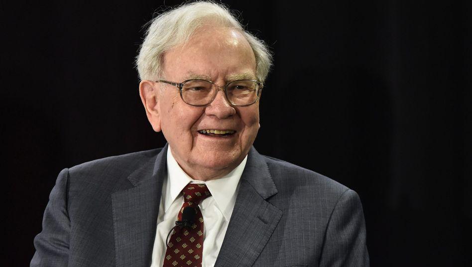 Warren Buffett: Seine Investmentgesellschaft Berkshire Hathaway meldet ein Rekordquartal