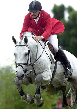 Otto Becker auf Cento: Der Schimmel war das zuverlässigste Pferd der deutschen Equipe
