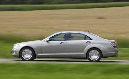 Mercedes-Benz S-Guard: Von außen soll man die Panzerung nicht erkennen