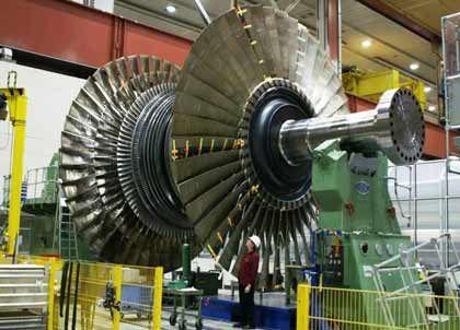 """Siemens: Von der Turbine für das finnische Atomkraftwerk """"Olkiluoto 3"""" (Bild) bis zu medizinischen Geräten alles im Angebot"""