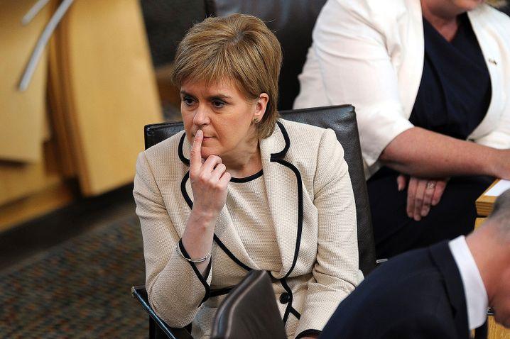 Nicola Sturgeon: Schottland will zwingend in der EU bleiben