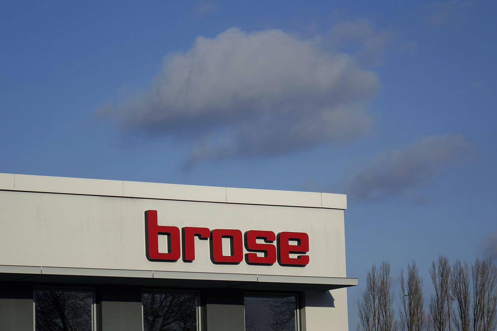 EINMALIGE VERWENDUNG Brose / Logo